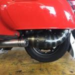 Marmitta Serie hp per motori 150cc